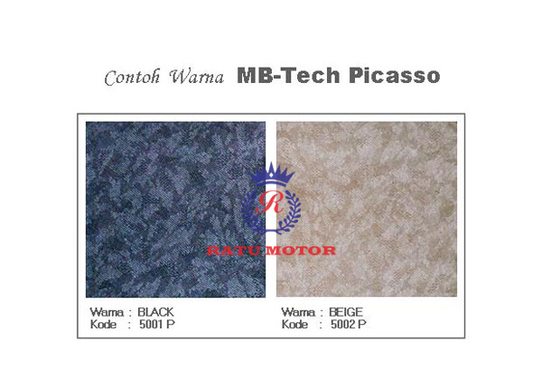 Contoh Bahan MB-Tech PICASSO