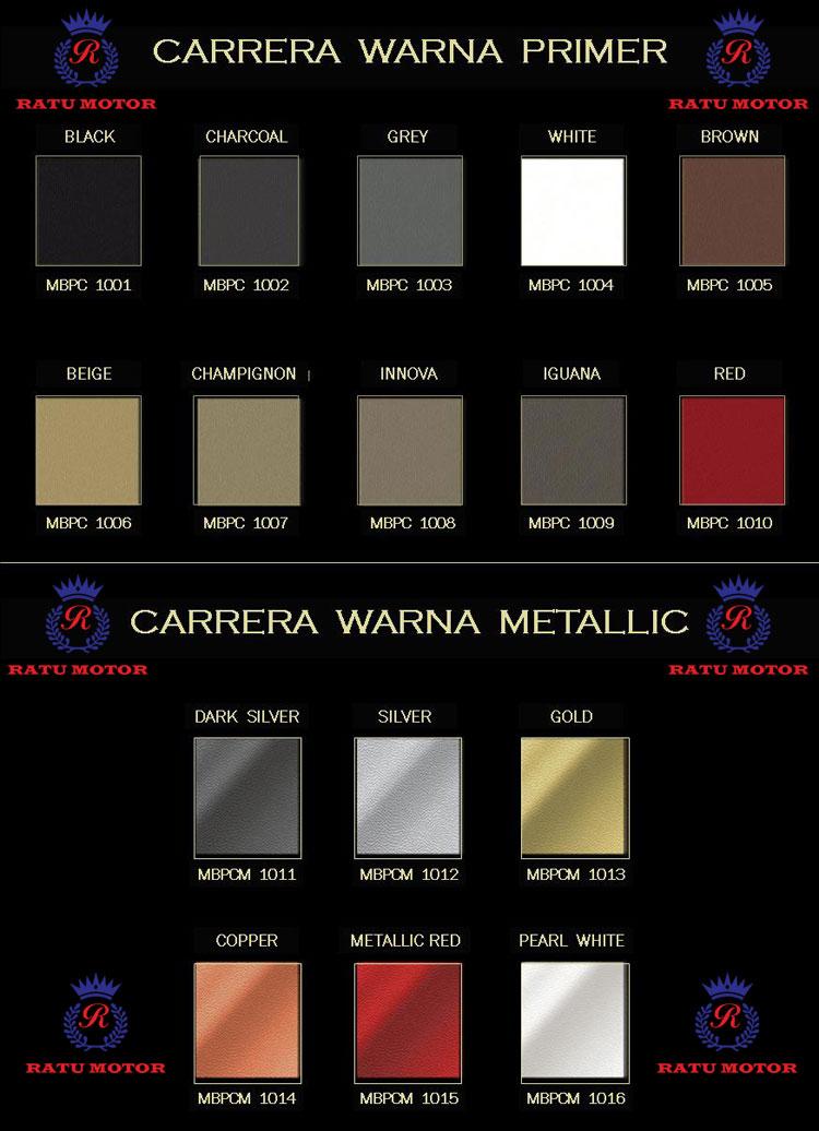 Bahan MB-Tech Premium CARRERA - Primer & Metallic