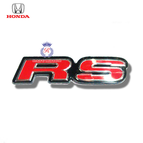 Logo RS For Honda MOBILIO , BRIO , JAZZ