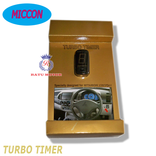 TURBO TIMER Automatic For PAJERO SPORT 2010-2014 / l200