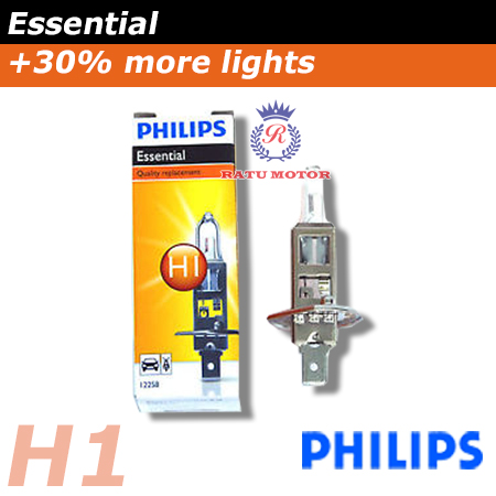 PHILIPS Premium Halogen H1 12V 55 Watt Colour 3.500K