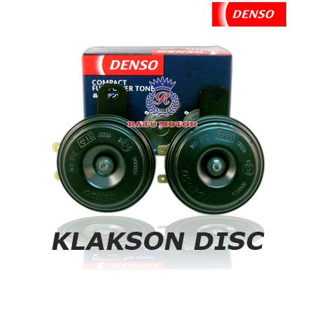 Klakson DENSO Disc Hitam tanpa Relay