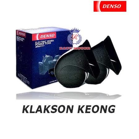 Klakson DENSO Keong Hitam tanpa Relay