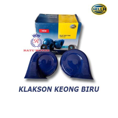 Klakson HELLA Keong Blue w/o Relay