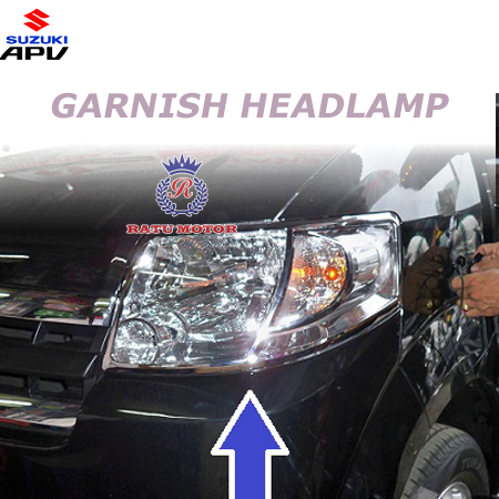 GARNISH Headlamp Suzuki APV Chrome