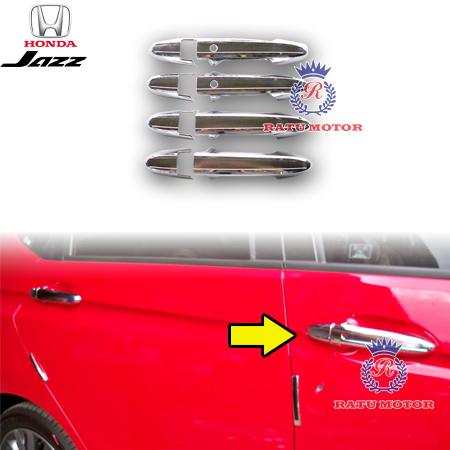 Cover Handle All New JAZZ 2014-2018 Chrome