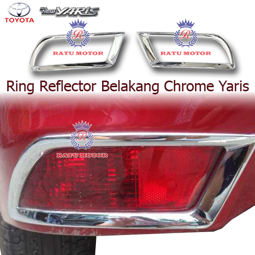 Ring Reflektor Bumper Blkg All New YARIS 2015 Tipe G