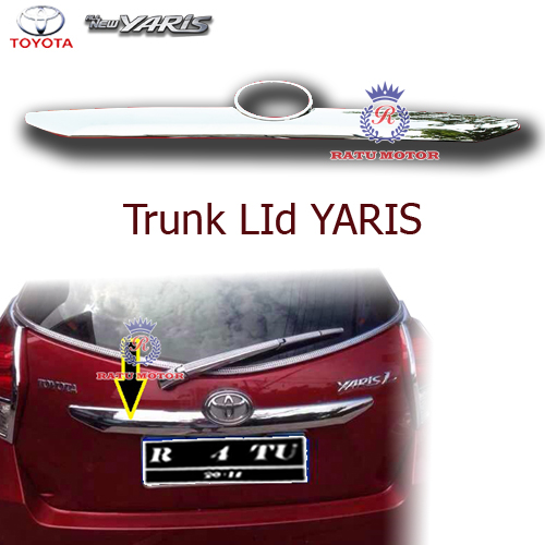 Trunk Lid All New YARIS 2015