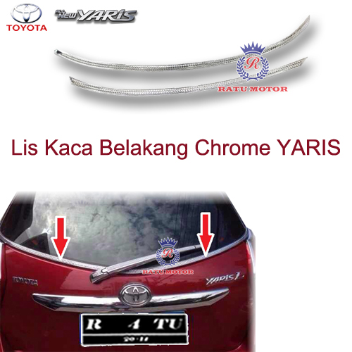List Kaca Belakang All New YARIS 2015