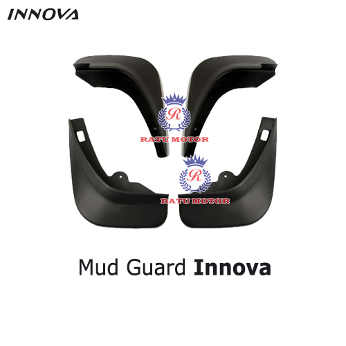 Mud Guard (Karpet Roda) Grand INNOVA 2012-2015 Plastik Hitam