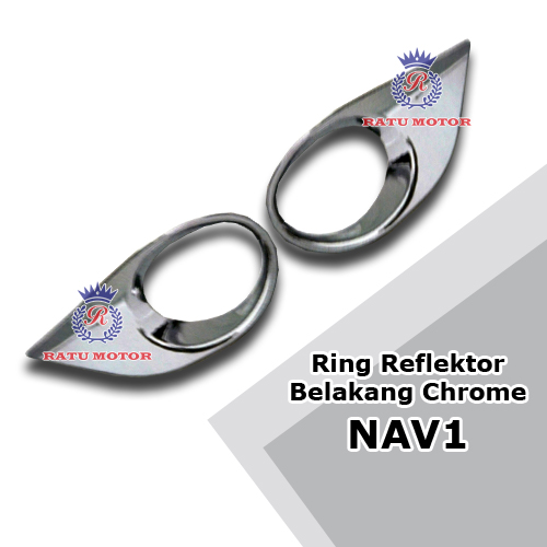 Ring Reflektor Belakang NAV1 2012-2016 Chrome