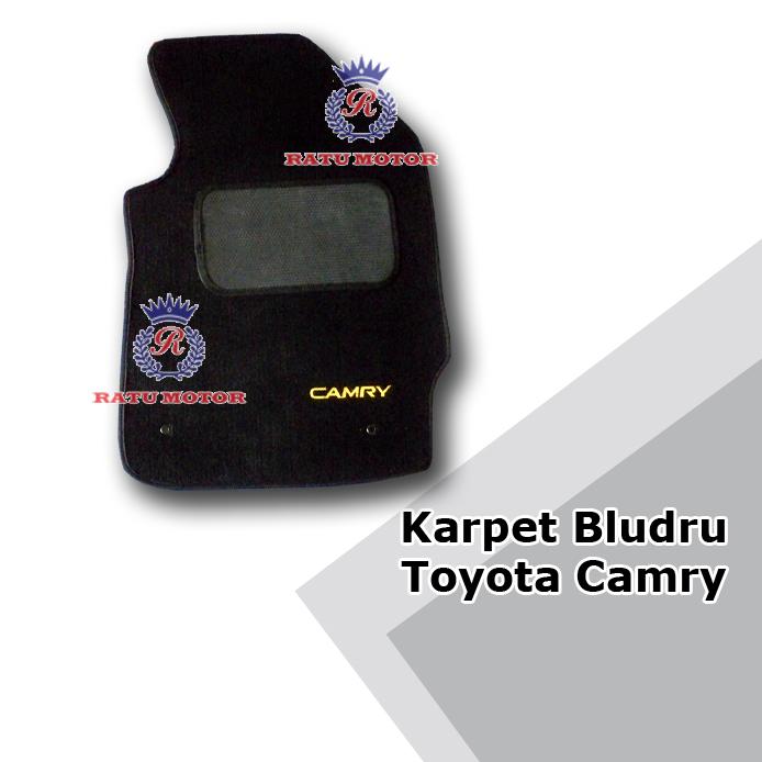 Karpet Bludru Tipe MR - Toyota CAMRY (Tanpa Bagasi)