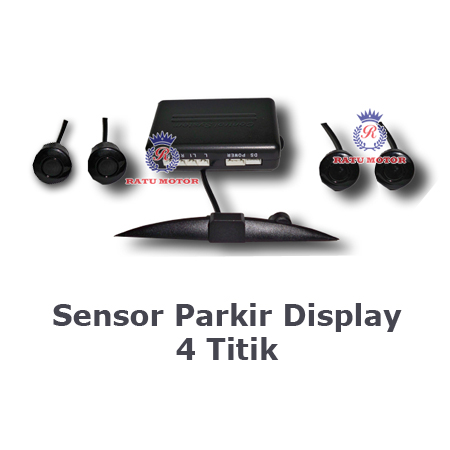 Parking Sensor Model Display 4 Titik