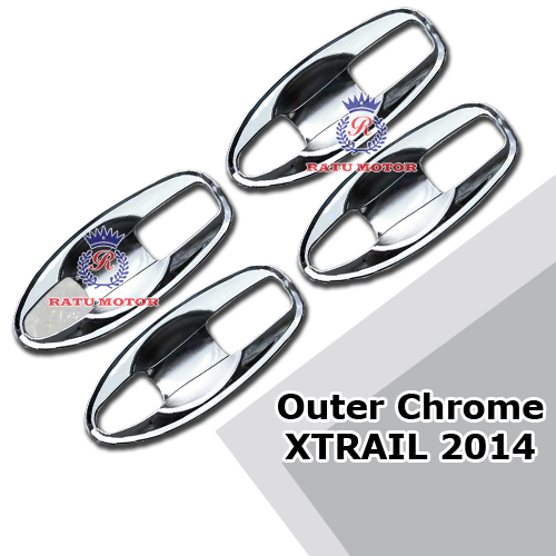 Outer Handle XTRAIL 2015 Chrome