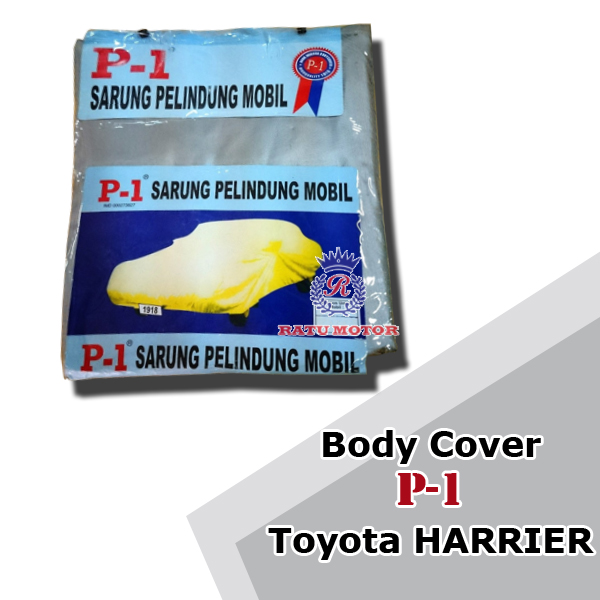 BODY COVER P1 Toyota HARRIER (NOT for White Car)