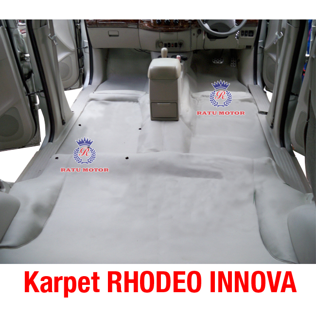 Karpet Dasar RHODEO INNOVA 2005-2015 Bahan MB-Tech