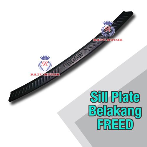 Sill Plate Belakang FREED 2010-2018 Plastik Hitam