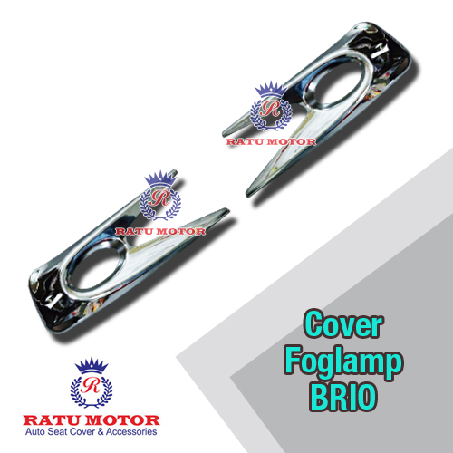 Cover Foglamp BRIO 2014-2015 Chrome