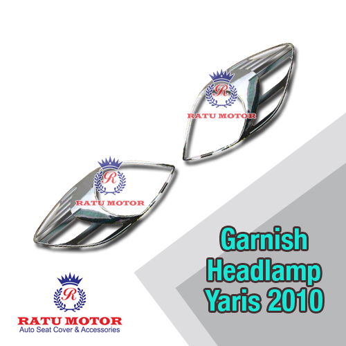 Garnish Headlamp YARIS 2009-2013