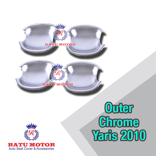 Outer Handle Toyota YARIS 2005-2013 Chrome