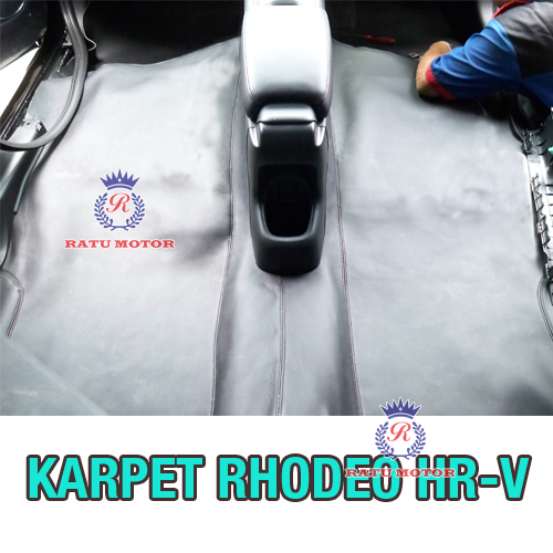 Karpet Dasar RHODEO Honda HRV Bahan MB-Tech