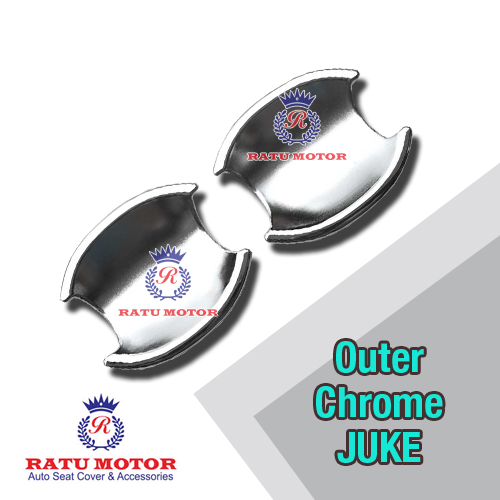 Outer Handle Nissan JUKE (2Pcs) Chrome
