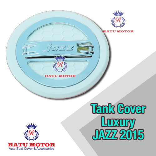 Tank Cover Luxury All New JAZZ 2014-2019 White