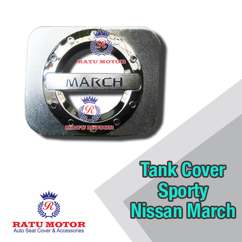 Tank Cover Sporty MARCH Chrome
