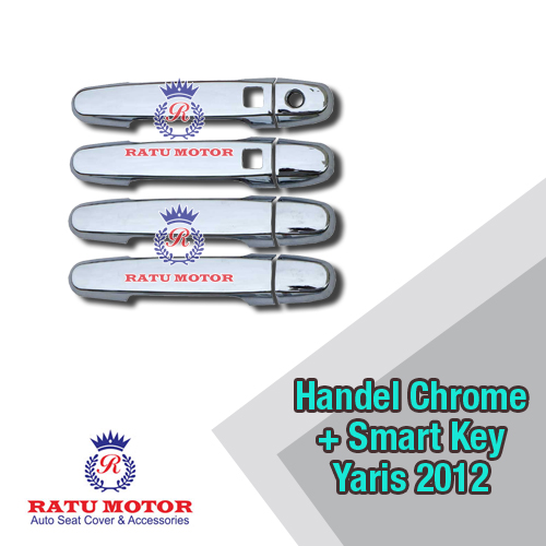 Cover Handle Chrome New YARIS 2009-2013+ Smart Key
