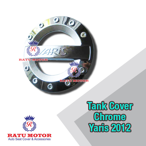 Tank Cover Chrome YARIS 2005-2013 Model Sporty