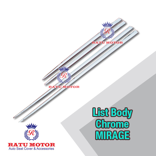 List Body MIRAGE Plastik Chrome