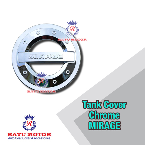 Tank Cover Sporty MIRAGE Chrome