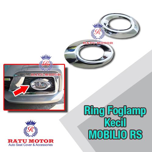 Ring Foglamp Kecil MOBILIO RS Chrome