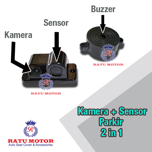 CAMERA Rear View + SENSOR Parkir 2 in 1