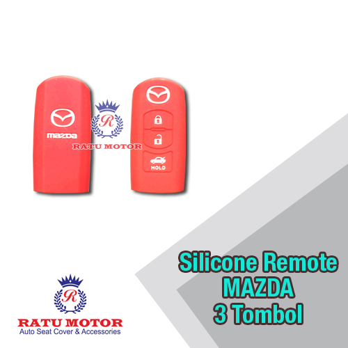 Silicone Cover For Remote MAZDA 2 (3 Tombol)