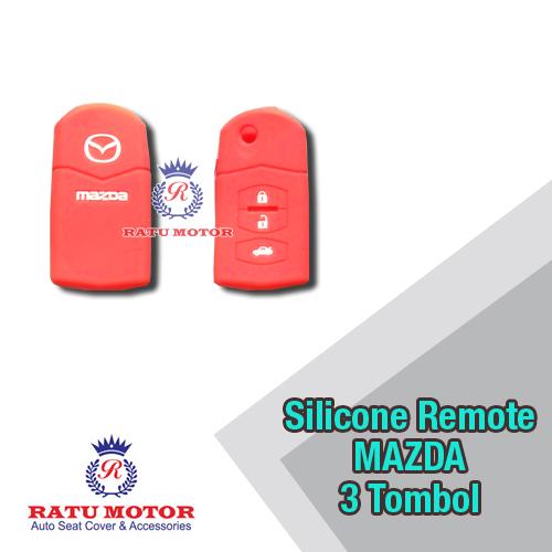 Silicone Cover For Remote MAZDA 3 , 6 (Flip Key)