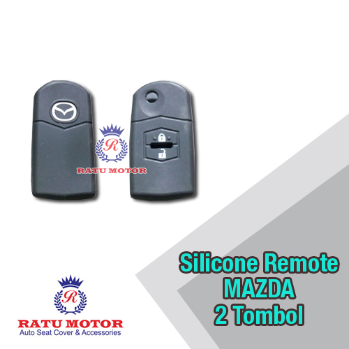 Silicone Cover For Remote MAZDA 2 (2 Tombol)