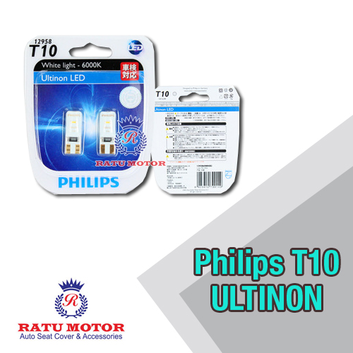 PHILIPS T10 Ultinon LED 12V 6000K