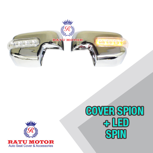 Cover Spion SPIN Chrome + Lamp