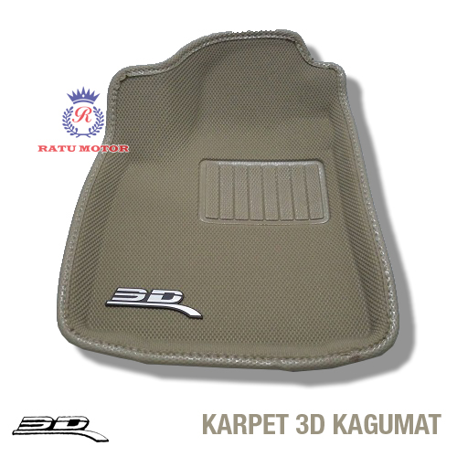 Karpet 3D KAGUMAT MAZDA 3 Bahan Polyester MAXpider
