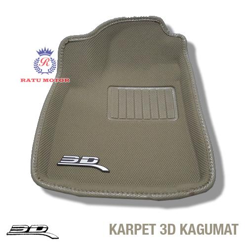 Karpet 3D KAGUMAT ALPHARD / VELLFIRE 2008-2014 Bahan Polyester MAXpider