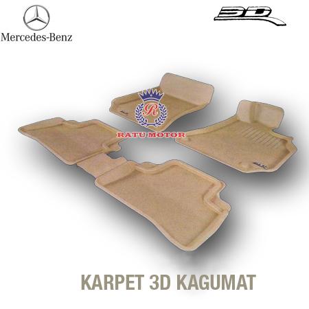 Karpet 3D KAGUMAT Mercy C Class (W203) Bahan Polyester MAXpider