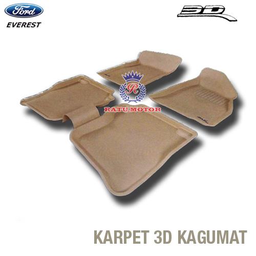 Karpet 3D KAGUMAT EVEREST Bahan Polyester MAXpider