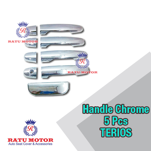 Cover Handle Chrome TERIOS 2006-2017 5 Pcs