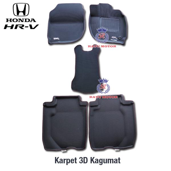 Karpet 3D KAGUMAT Honda HRV Bahan Polyester MAXpider