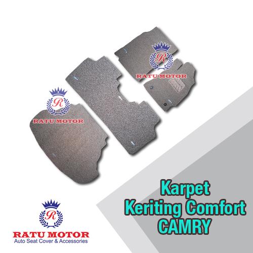 COMFORT PREMIUM Karpet Keriting CAMRY 2012 Plus Bagasi