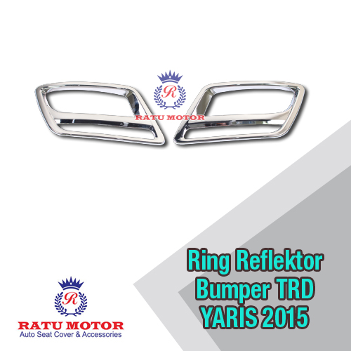 Ring Reflektor Bumper All New YARIS 2014-2015 TRD
