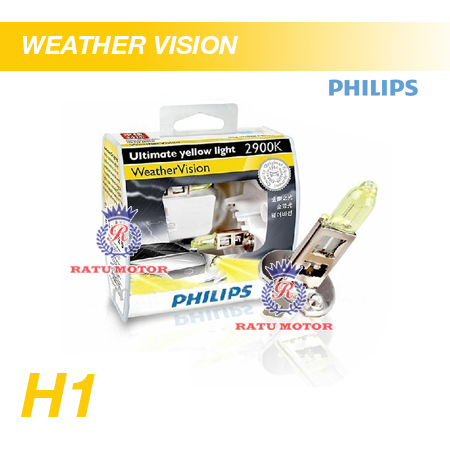PHILIPS Weather Vision Halogen H1 12V 55W