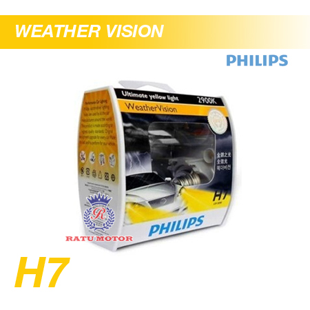 PHILIPS Weather Vision Halogen H7 12V 55W