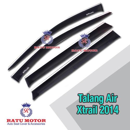 Talang Air List Chrome XTRAIL 2014
